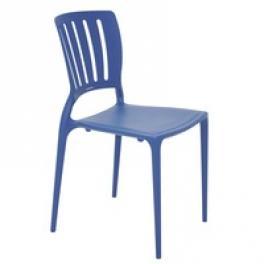Cadeira Sofia sem Braços Encosto Vazado Vertical Tramontina 92035030
