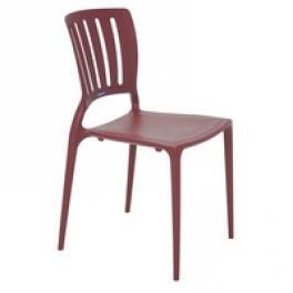 Cadeira Sofia Summa sem Braços Encosto Vazado Vertical Tramontina 92035050