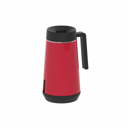 Bule Térmico Tramontina Exata em Aço Inox Vermelho com Infusor 500ml