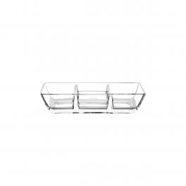 Petisqueira Cristal Lapidar Tramontina  1 Peça