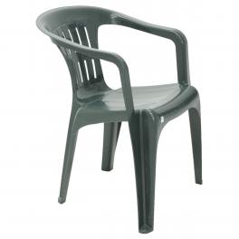 Cadeira Tramontina Atalaia Basic com Braços em Polipropileno Verde