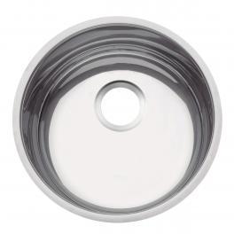 Cuba de embutir Tramontina Luna 35 BL em aço inox polido 35cm