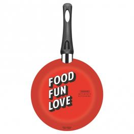 Frigideira de Alumínio Tramontina My Lovely Kitchen Antiaderente Starflon Max com Cabo Baquelite 20 cm 0,8 L