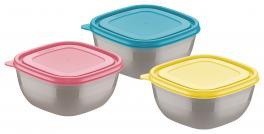 Conjunto de Potes 3 Peças Mixcolor Tramontina 25099948