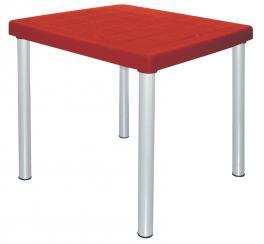 Mesa Quadrada Vermelha Mona Tramontina 92350040