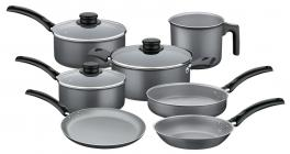 Jogo de Panelas de Alumínio com Revestimento Antiaderente 7 Peças Turim Tramontina 20297699