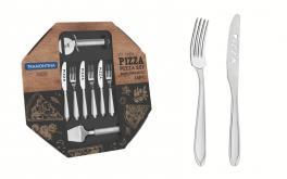 Kit para Pizza Tramontina Laguna em Aço Inox 14 peças 66906680