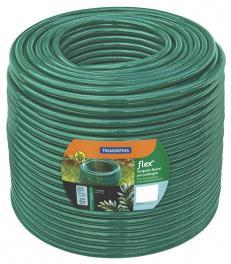 Mangueira Flex 5/8 polegadas Tramontina Verde em PVC 3 Camadas 50 m 79185500