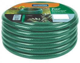 Mangueira Flex Tramontina Verde em PVC 3 Camadas 15 m 79170150