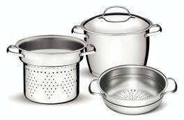 Conjunto Multi Cooker Inox 3 Peças Allegra 65650070