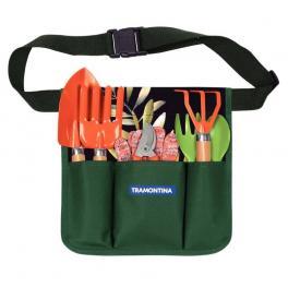 Conjunto Para Jardinagem Tramontina Cinto Com 8 Peças 78119801