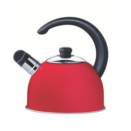 Chaleira Aço Inox Vermelho 2.1L com Apito Tramontina 61483060