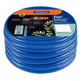 Mangueira flex Tramontina azul em PVC 2 camadas 30 m