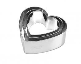 Cortadores Forma de Coração La Pasticceria Tramontina 29899034