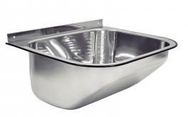 Tanque Parede Inox Polido 50x40cm Tramontina 94401407