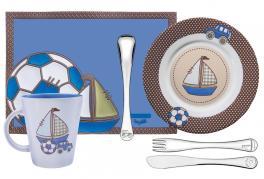 Kit Infantil Azul 6 Peças Inox Le Petit Tramontina 64250670