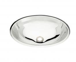 Cuba Lavabo Oval Inox Acetinado 40x30cm Tramontina 94113107