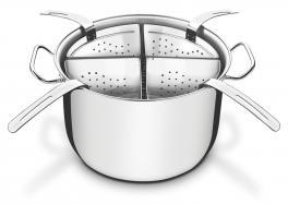 Cozi Pasta Inox 4 Recipientes Professional Tramontina 65620411