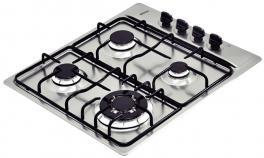 Cooktop Aço Inox Square 4GX TRI 60 Tramontina 94701201