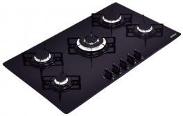 Cooktop Glass Penta Plus 5GG Tri 90 Tramontina 94709201