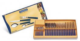 Faqueiro Inox 24 Peças Azul New Kolor Tramontina 23199162