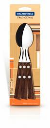 Conjunto Colher Mesa Inox 3 Peças Tradicional Tramontina 22203300