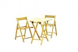Conjunto Mesa e Cadeira Aconchego 3 Peças Tramontina 10630025