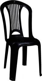 Cadeira Atlântida Preta Basic Tramontina 92013009