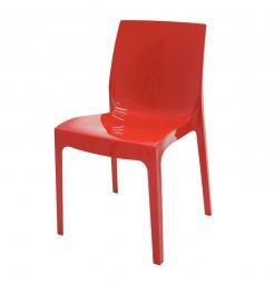 Cadeira Alice Polida Vermelha Tramontina 92037040