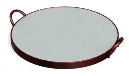 Assadeira para Pizza em Pedra Sabão 33cm Tramontina 10399028