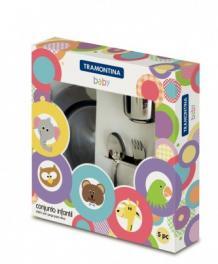 Kit Infantil Inox 5 Peças Baby Tramontina 64250740