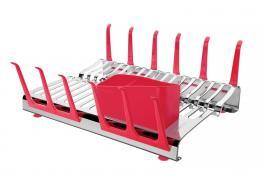 Escorredor de Louça Vermelho Plurale Tramontina 61535560