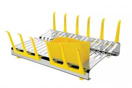 Escorredor de Louça Amarelo Plurale Tramontina 61535580