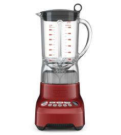 Liquidificador Tramontina by Breville Smart Gourmet Vermelho com Copo Tritan 7 Tarefas 1100W 1,5L 220V