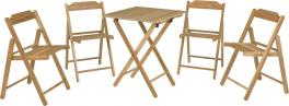 Conjunto Mesa e Cadeira 5 Peças Beer Tramontina 10630066