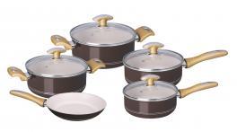 Jogo de Panelas Alumínio 5 Peças Tonalité Tramontina 20499440