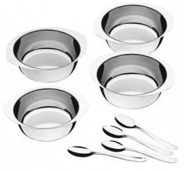 Kit Para Sobremesa 8 Peças Aço Inox Tramontina 64400780