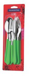 Faqueiro 12 Peças Verde Leme Tramontina 23198239