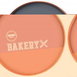 Assadeira Redonda Alumínio 22cm Bakery Tramontina 27814006
