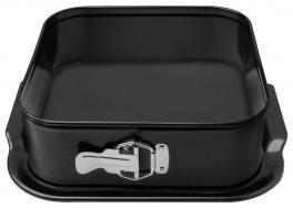 Forma Quadrada 24cm Fundo Removível Alumínio Bakery Tramontina 27814014