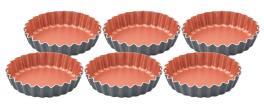 Conjunto de Formas Para Tortinhas Alumínio Bakery Tramontina 27899061