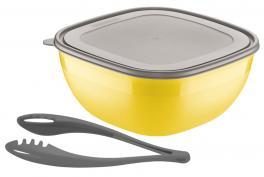 Saladeira Amarela 2 Peças Mixcolor Tramontina 25099951