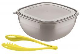 Saladeira Cinza 2 Peças Mixcolor Tramontina 25099952