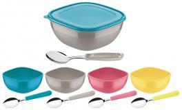 Kit Para Sobremesa 10 Peças Mixcolor Tramontina 25099941