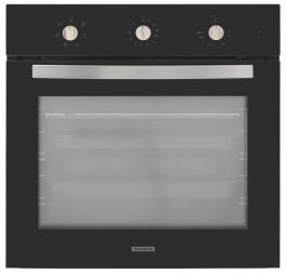 Forno Elétrico de Embutir Tramontina New Glass Cook B 60 F7 Vidro Temperado Preto 7 Funções 71 L