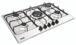 Cooktop Aço Inox New Penta 5GX Tri 75 Tramontina 94716111