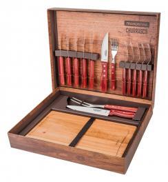 Kit para Churrasco 15 Peças Polywood Tramontina 21198770