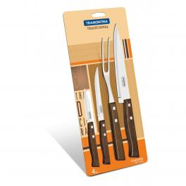 Jogo de facas 4 peças Tramontina 22299019