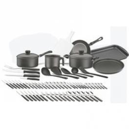 Kit para Cozinha de Aluminio Caribe Starflon T1 64 peças Tramontina 20299088