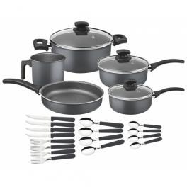 Kit para Cozinha em Aluminio e Starflon T1 21 peças Tramontina 20598618